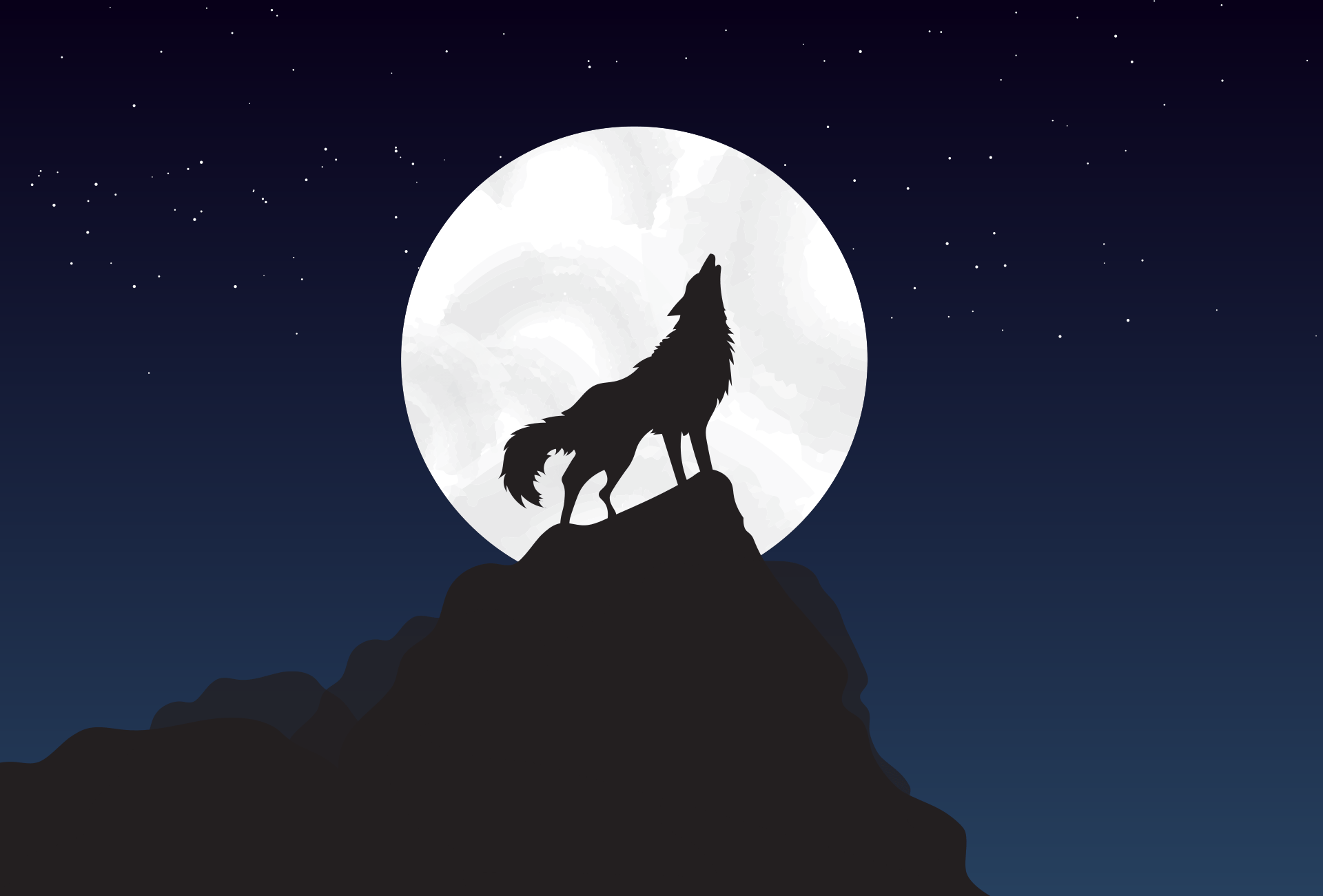 wolf voor pannenkoek